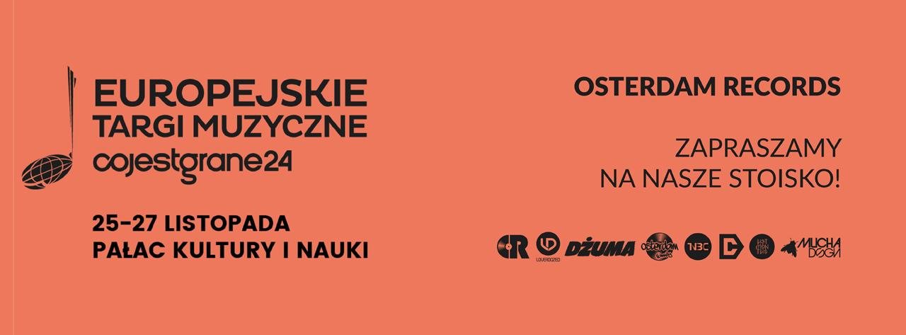 Osterdam Records na Europejskich Targach Muzycznych CJG 2016